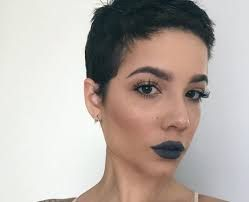 Image result for halsey shaved