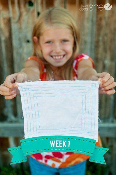 5 Week Summer Sew School