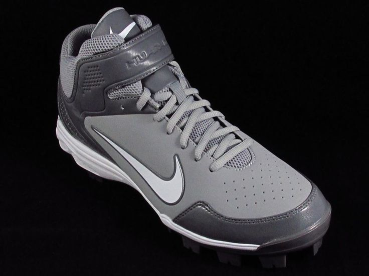 grey youth baseball cleats nike retro