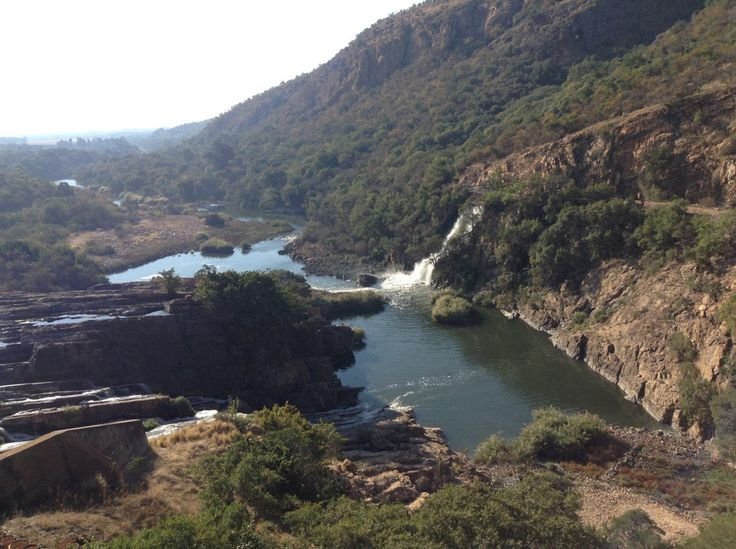 River from Hardebeesport dam, South Africa