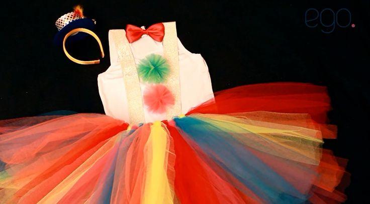 Veja como fazer uma fantasia de palhacinha simples, linda e bem fresquinha para curtir o carnaval.