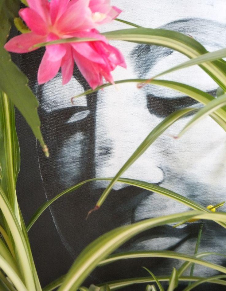 Meditation II - Ölbild