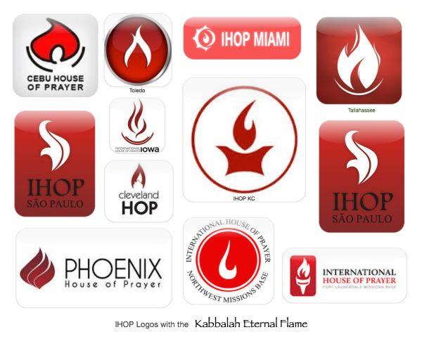 IHOP Kabbalah Eternal Flame logo Collage
