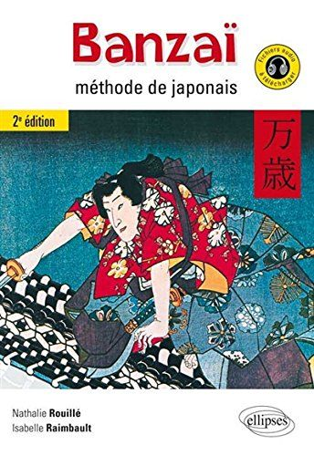 BANZAÏ. METHODE DE JAPONAIS. 2E EDITION. This second edition of Banzaï, enriched with new activities and audio files, will allow you, lesson after lesson, to acquire the basics of the current vocabulary and the essential notions of Japanese grammar and to review your knowledge on your own about everyday situations and Japanese culture. Ref. number(s): JAP-032 (book) - JAP-010 (audio).