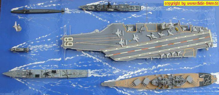 moderne US-Flotte in 1:700