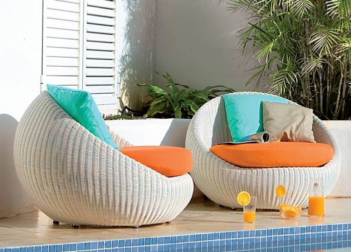 Rattan Garden Furniture White Stylish Fresh Editions Of The Pool Plants More