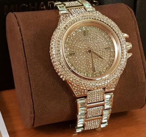 7f5b055cad51 Michael-Kors-Watch-Camille-Gold-Pave-Dial-Crystal-Encrusted-For-Women-039-s- MK5720 -  Fashion  watch  watchcollector  ladies  watchuseek  watchlover   gift ...