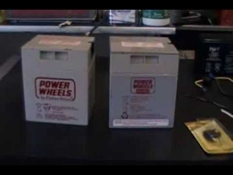 How To Modify A 12 Volt Power Wheels Battery The Correct Way - Modified ...