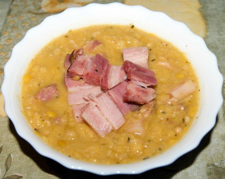 Шведский гороховый суп со свининой.  Очень вкусный насыщенный и сытный суп. Лучший гороховый суп, который мы ели.