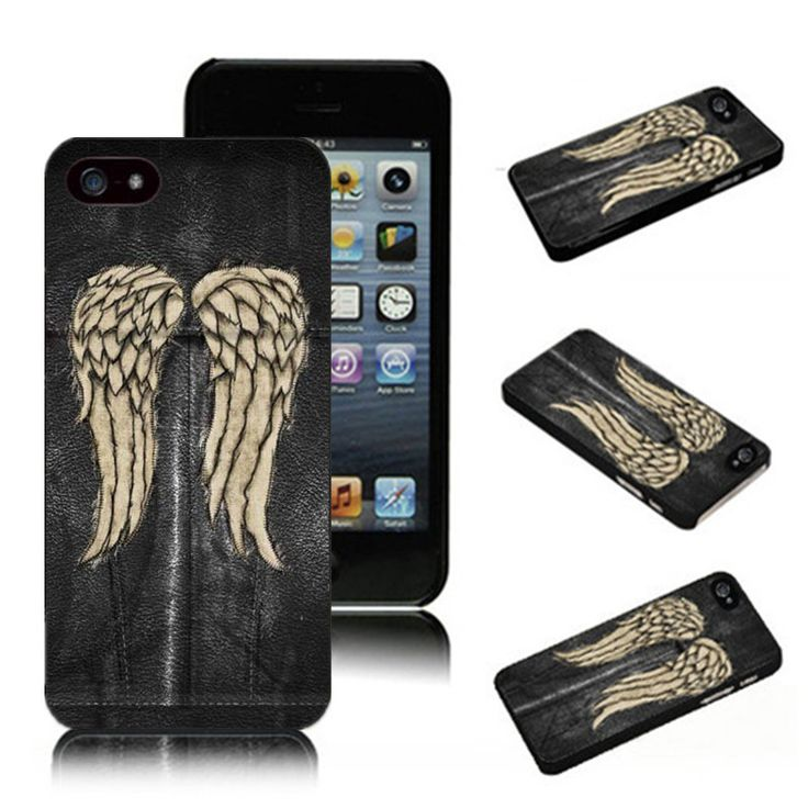 Fashion The Walking Dead Daryl Dixon HardCover durable mobile cover for iPhone SE 4 4S 5 5S 5c 6 6s 6plus 7 7Plus Phone Cases