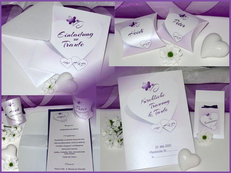 Einladungen U0026 Co. Für Eine Hochzeit Mit Taufe. Das Besondere Fest Dekoriert  Ihr Mit