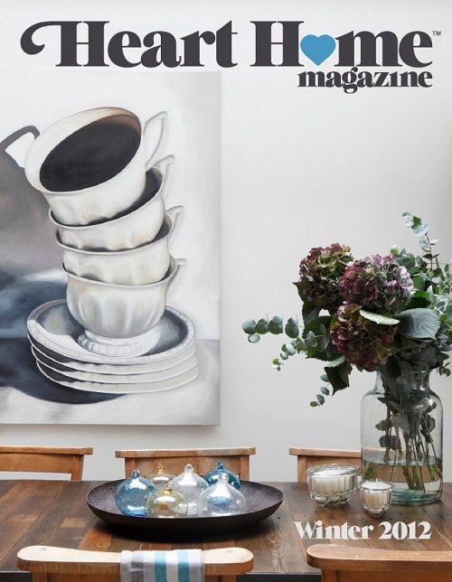 Heart Home magazine winter/2012 #decor #design #home #interior #quarterly #free