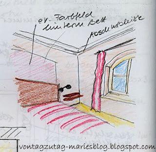 @vontagzutagmari  Ein sommerliches Schlafzimmer. Selbst projektiert und ausgeführt. http://vontagzutag-mariesblog.blogspot.co.at/