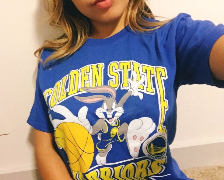 Cute story alert: when you are shopping and your man goes behind your back and surprises you as you are walking out of the store with the cutest shirt ever!!! Golden State Warriors