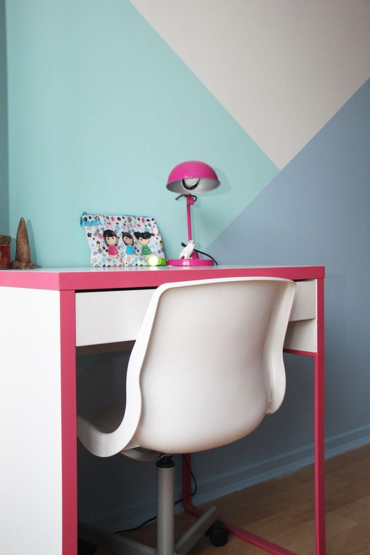 les 17 meilleures id es de la cat gorie bandes de peinture sur pinterest murs ray s murs de. Black Bedroom Furniture Sets. Home Design Ideas