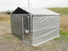 Dog kennel cover, winter bundle for 10x10 kennel