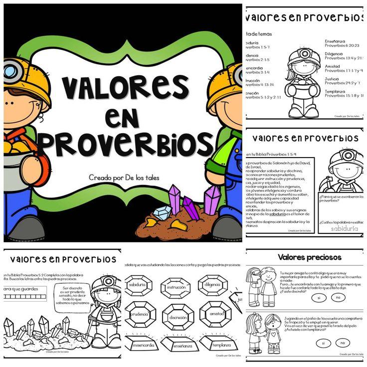 De los tales: Valores en Proverbios