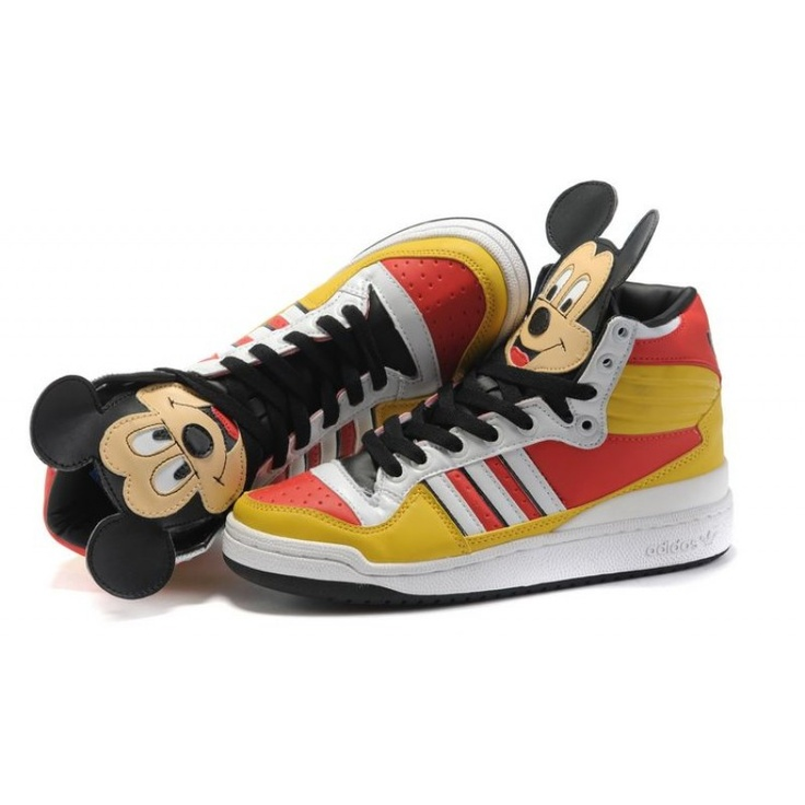 For Sale Men adidas Original by Original x Jeremy Scott Mickey high For  £84.19