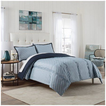 Vue Roz 3-Piece Comforter Set, Blue