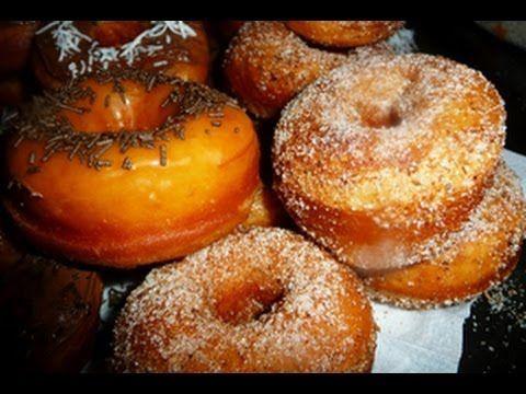Homemade Doughnuts Recipe Demonstration - Joyofbaking.com - YouTube