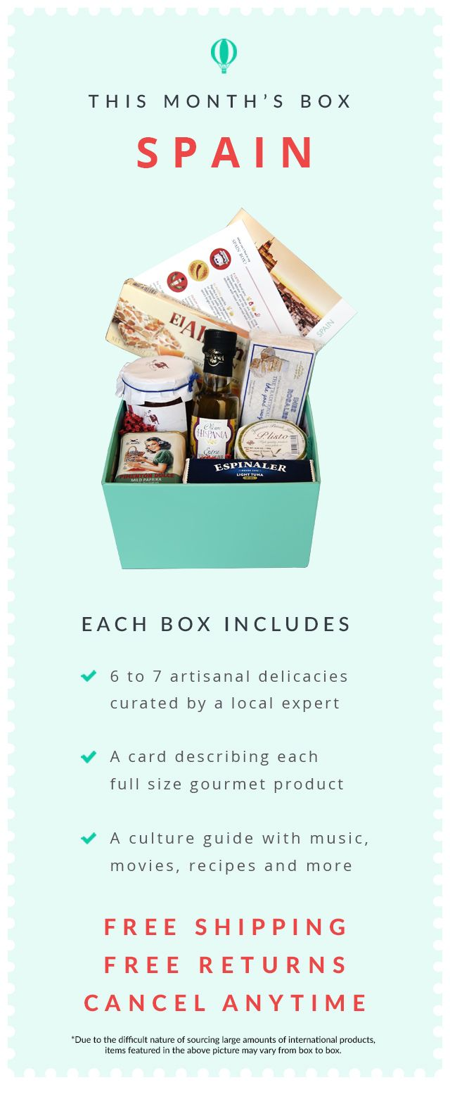 Skip the TSA line. Forget your passport. Try The World at home. Start today and get a free Paris Box.