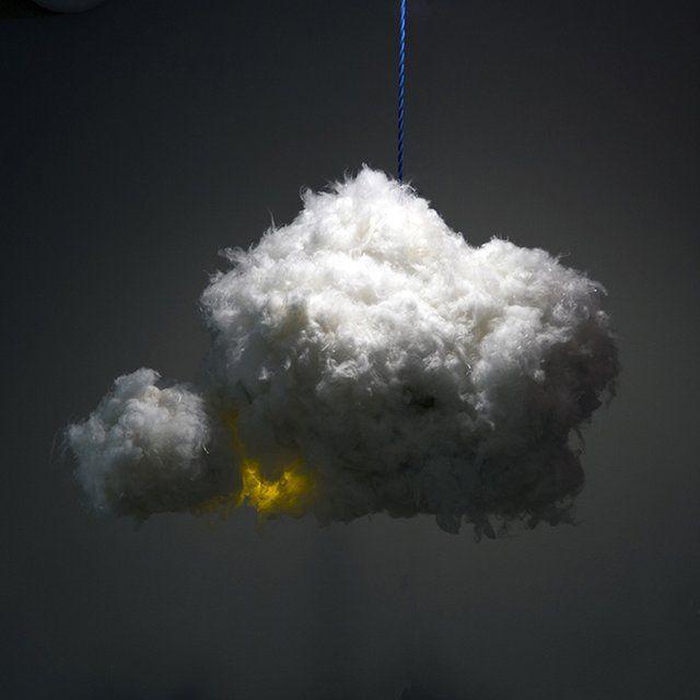 Cloud Lamp: A nuvem luminária que toca música