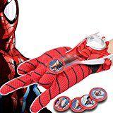 TEKIMBE Spiderman Launchers Gloves Hero Roleplay Cosplay Toy For Children Children Gifts