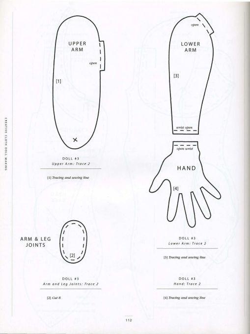 выкройки авторских текстильных кукол натальи подкидышевой