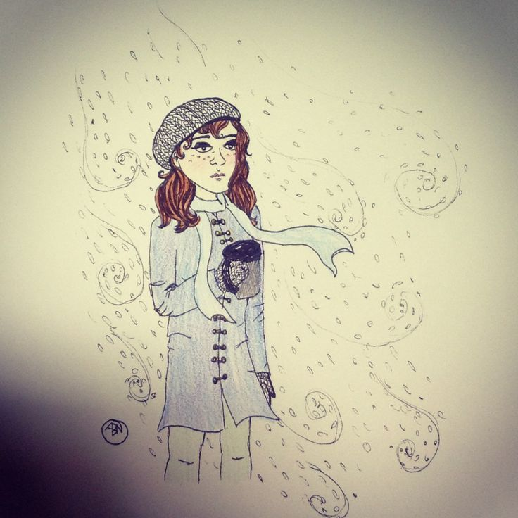 This is what I feel like today,I'm cold!! (Annie Bea)