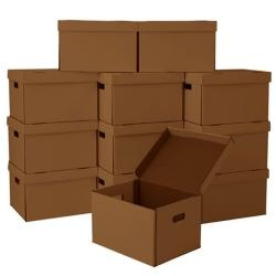 @Overstock - Materials: Corrugated cardboardModel No: SFIL-12Bundle: 12 file moving/storage boxeshttp://www.overstock.com/Office-Supplies/File-Moving-Boxes-Pack-of-12/6297321/product.html?CID=214117 $41.99: High 41 99, 15 25 Inches, Corrugated Cardboardmodel, File Moving Storage