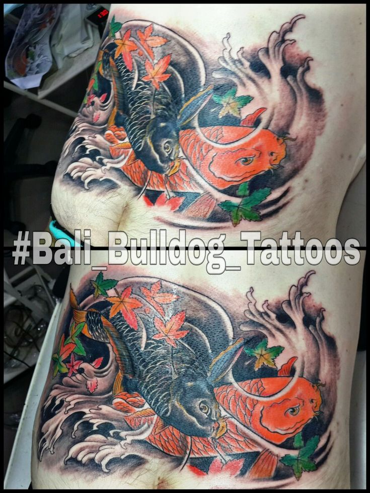 #Koi_Fish_Tattoo #Bali_Bulldog_Tattoos #Bali_Tattoo #Bali_Bulldog_Tattoo