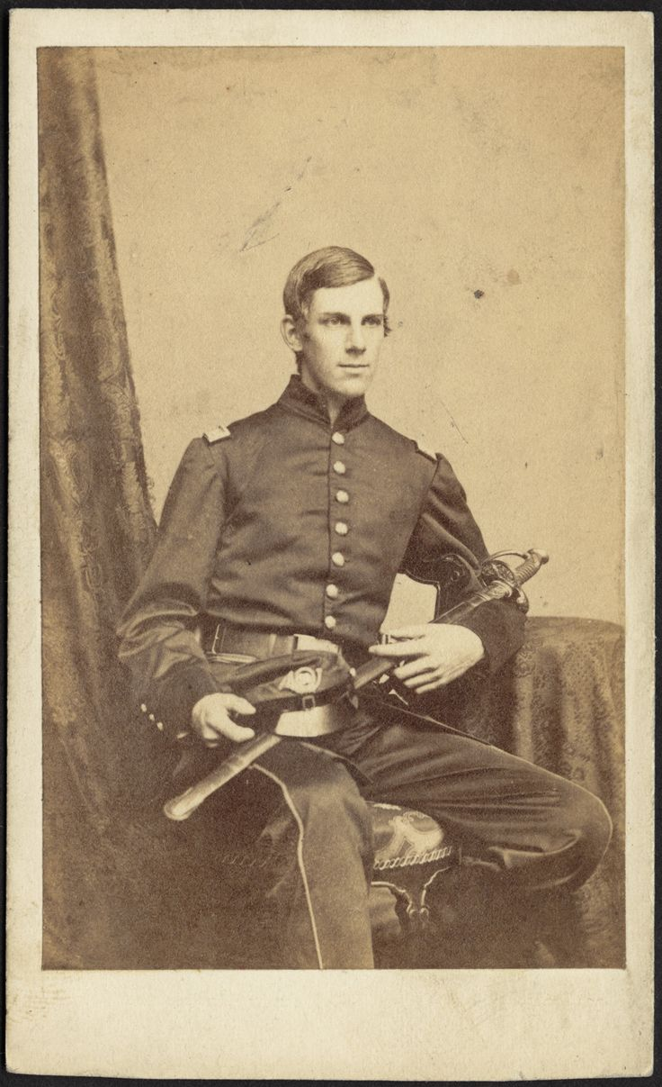 SILSBEE, CASE & CO, photographers, Carte de viste of Oliver Wendell Holmes, Jr. Boston: 1861. Oliver Wendell Holmes, Jr. (1841-1935) Captain in the 20th MA Regiment and U.S. Supreme Court Justice. Massachusetts supplied almost 150,000 troops to the...