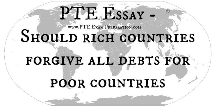 Wealthy nations help poor nations essay
