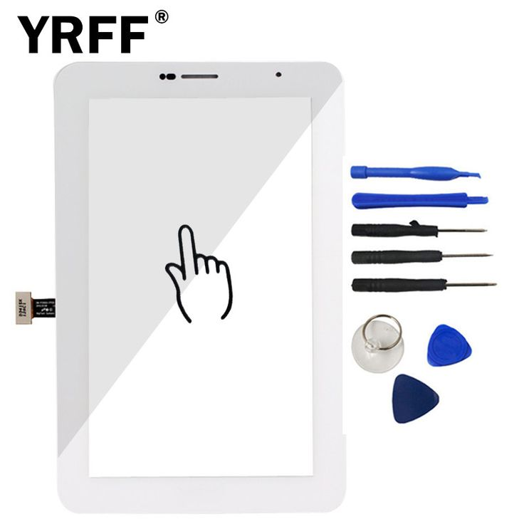 7 inch Touch Screen Lens Glass Outer Front Panel For Samsung Tab2 Galaxy Tab 2 P3100 GT-P3100 Digitizer Sensor Parts Tools Logo