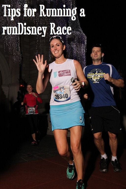 tips for running a runDisney race