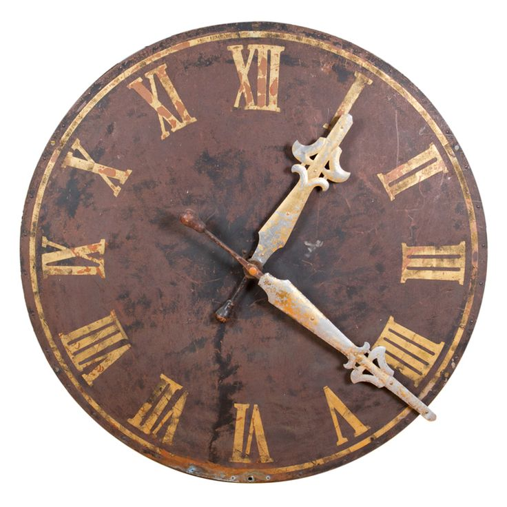 Large Decorative Clock Face From A Unique Collection Of