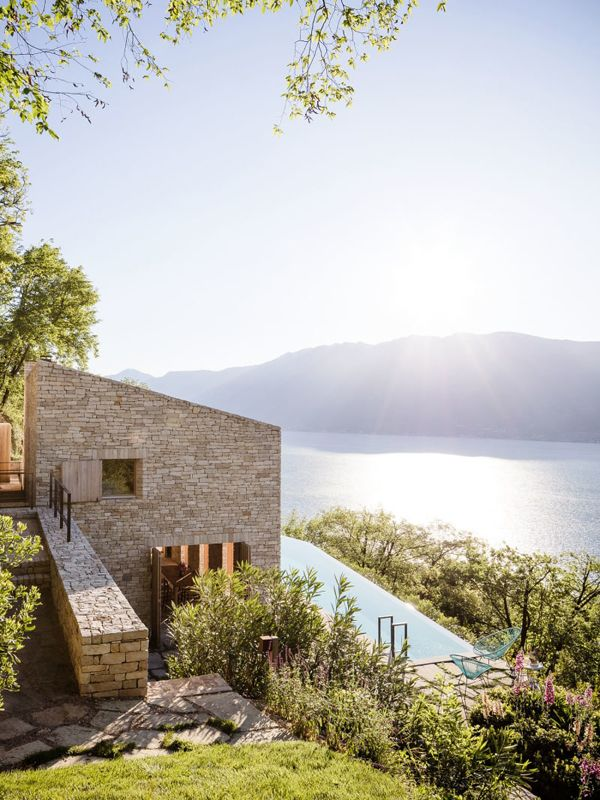 A SUMMER HOME WITH VIEWS ON LAKE GARDA, ITALY   THE STYLE FILES