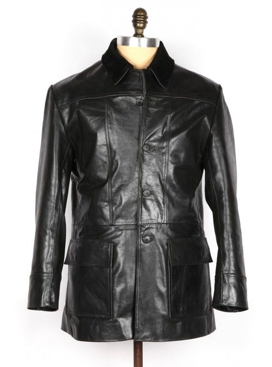 THE BRONSON – Genuine leather jacket.  Leather Jacket