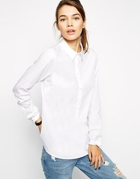 Classic white blouse from ASOS. Chapter 38.