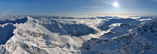 St.Moritz, Swiss Alpes, Virtual Tour - AirPano.com • 360 Degree Aerial Panorama • 3D Virtual Tours Around the World