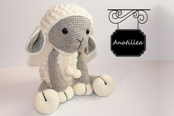 Please Read: This is a crochet pattern, not the finished product.  Size: The Lamb is about 34cm tall (13inch).  This pattern is easy to follow but