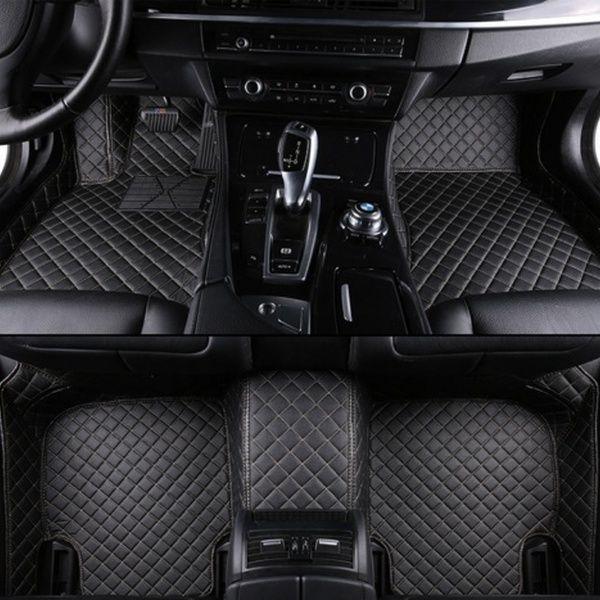 For Nissan Altima 2006 2017 Leather Car Floor Mats Waterproof Mat Custom Car Interior Custom Car Floor Mats Fit Car
