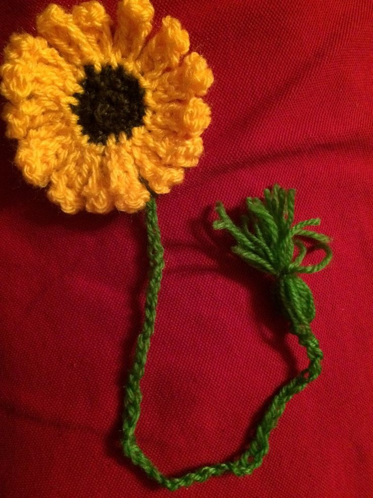 crocheted bookmark by GerlyRose on Etsy https://www.etsy.com/listing/469309146/crocheted-bookmark