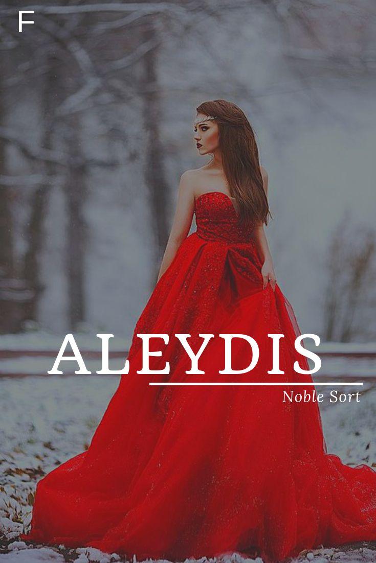 Aleydis, wat Noble Sort betekent, Nederlandse namen, een baby meisjesnamen, een baby namen, vrouw …