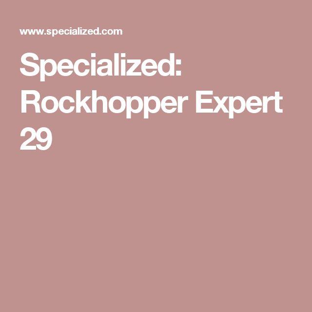 Specialized: Rockhopper Expert 29