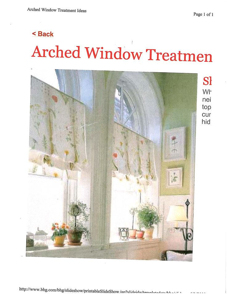 63 best images about arched window designs on pinterest for Arched kitchen window treatment ideas