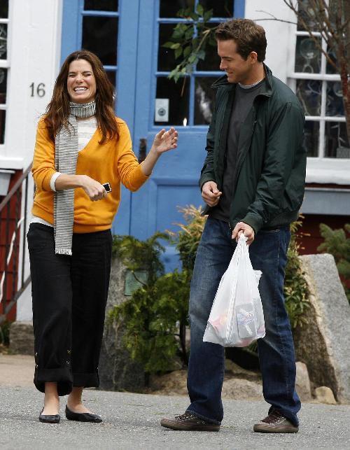 Sandra Bullock, Ryan Reynolds ~ The Proposal (2009) ~ Behind the Scenes #amusementphile