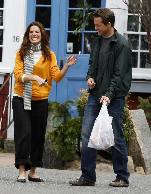 Sandra Bullock, Ryan Reynolds ~ The Proposal (2009) ~ Behind the Scenes #amusementphile