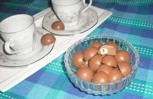 Cioccolatini al latte con la nocciola fatti in casa