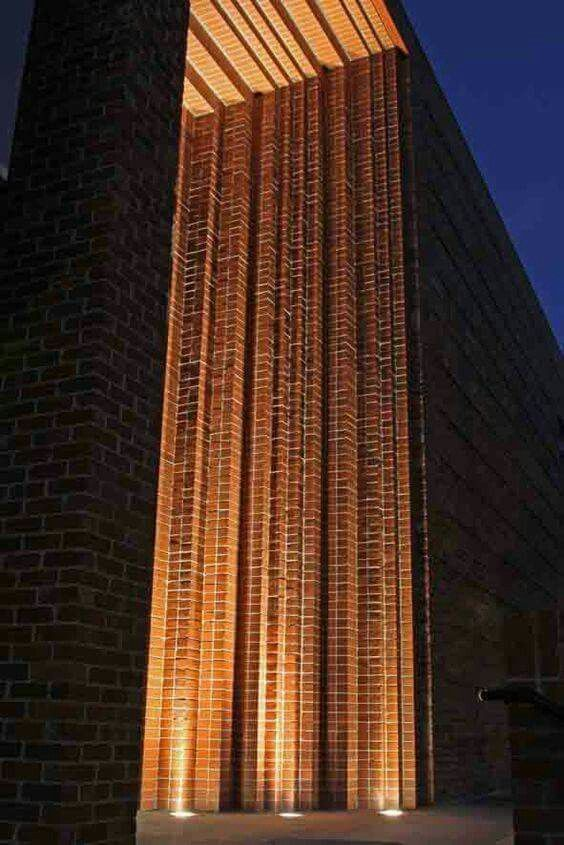 North Melbourne Recreation Reserve, brick detail, Williams Ross Architects